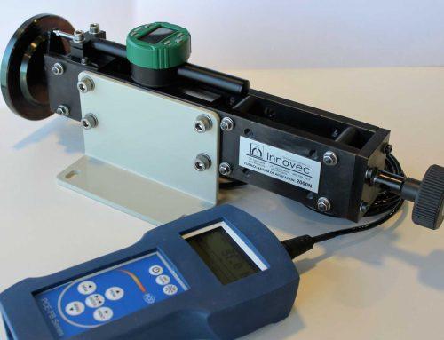 Dispositivo para la aplicación y medición de fuerzas de ensayo