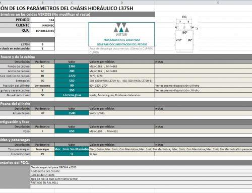 Automatización pedidos de ascensores hidráulicos