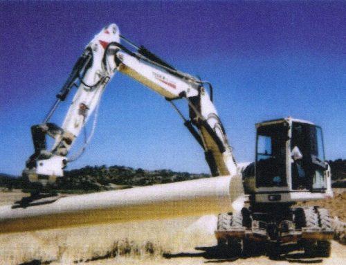 Manipulador por vacío de tuberías de gran tamaño