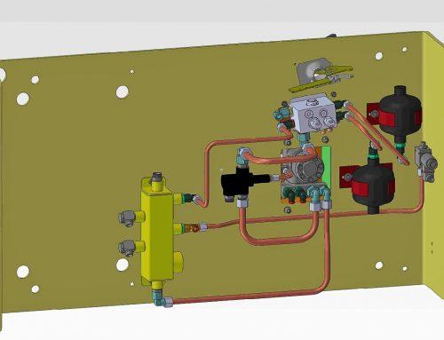 Rediseño instalación de frenado de máquina para la proyección de hormigón (Putzmeister SPM4210)